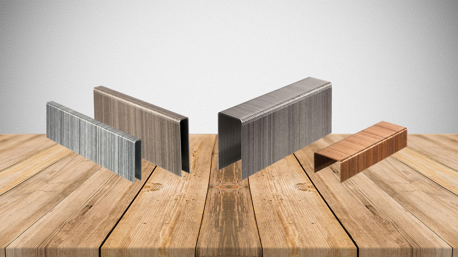 choisir ses agrafes pour son agrafeuse pneumatique blog de novi clous. Black Bedroom Furniture Sets. Home Design Ideas