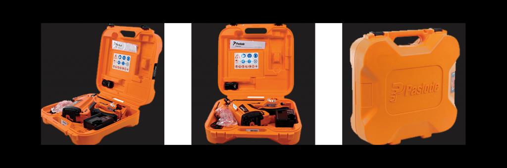 coffret paslode cloueur gaz batterie