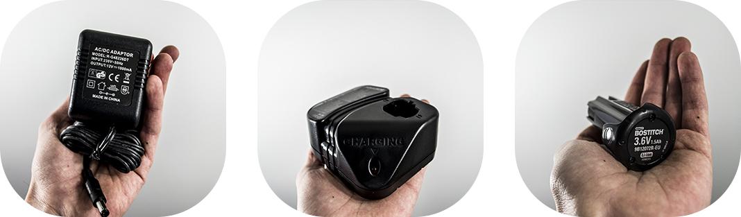 batterie gfn1664k bostitch cloueur finition gaz chargeur