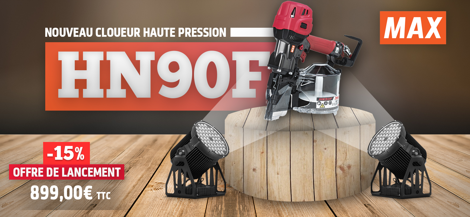 cloueur haute pression max hn90f