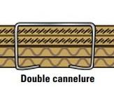 epaisseur cannelure double cannelure