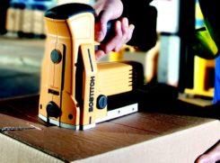 Agrafeuse pour fermeture de caisses carton